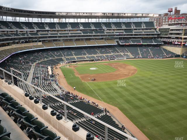 Target Field Section 201 view