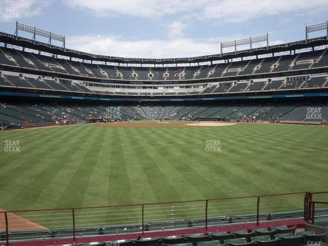 Globe Life Park Section 51 view