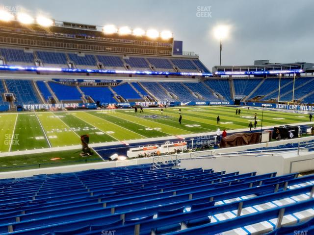 Kroger Field Section 4 view