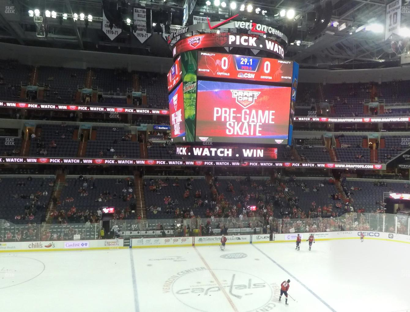 Washington Capitals at Capital One Arena Section 214 View