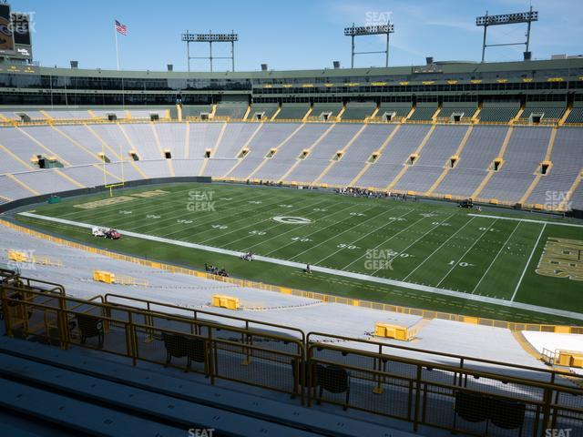 Lambeau Field Section 330 view