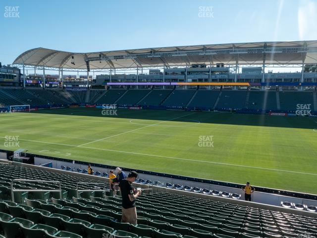 Stubhub Center Seating Chart Seatgeek