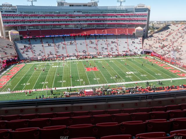 Memorial Stadium Nebraska Section 408 view