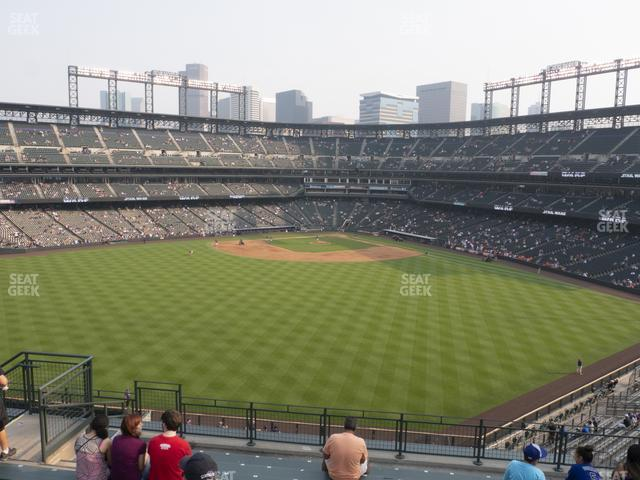 Coors Field Section 401 view