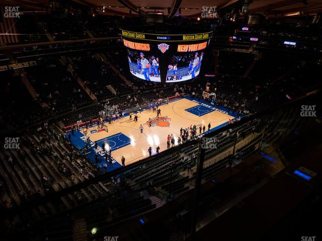 Madison Square Garden Section 324 view
