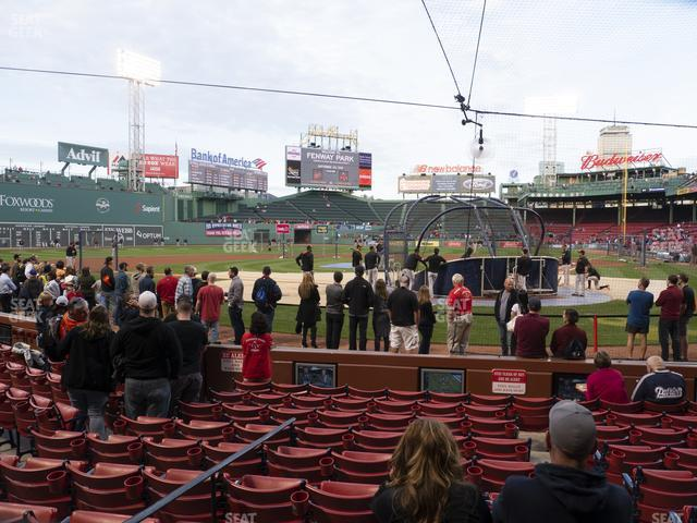 Fenway Park Field Box 49 view