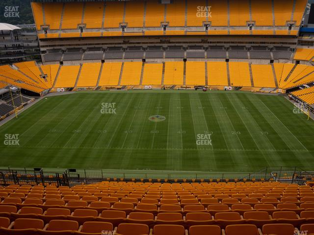 Heinz Field Section 511 view