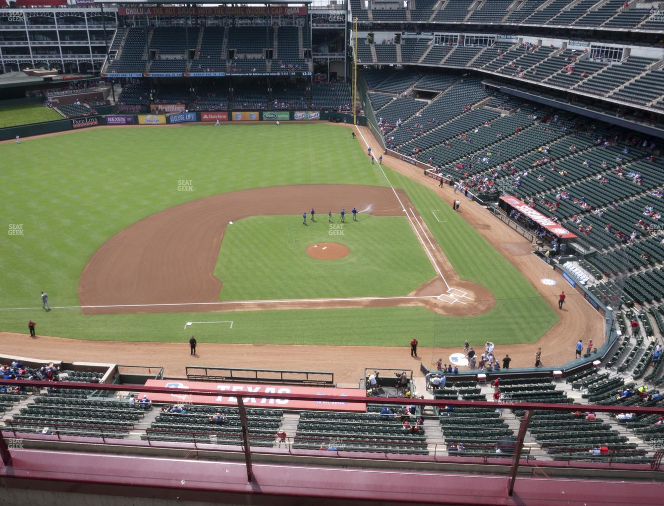 International Champions Cup at Globe Life Park Section 320 View