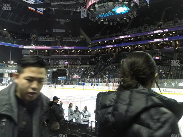 Barclays Center Section 23 view