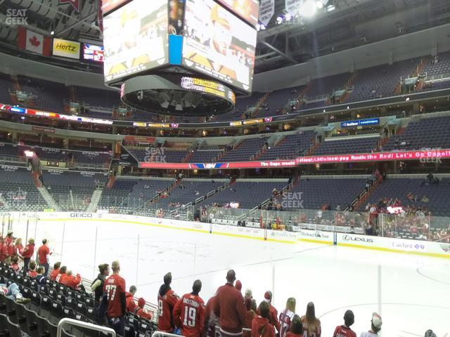 Capital One Arena Section 113 view