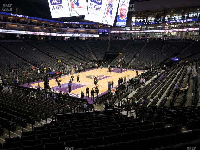 Golden 1 Center Section 111 view
