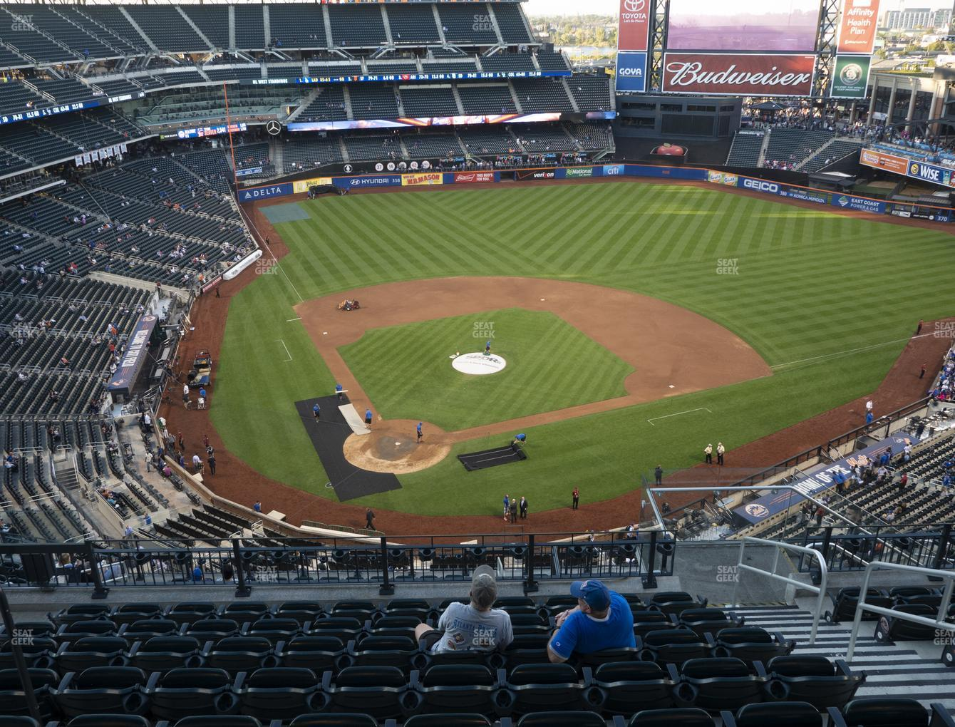 New York Mets at Citi Field Section 511 View