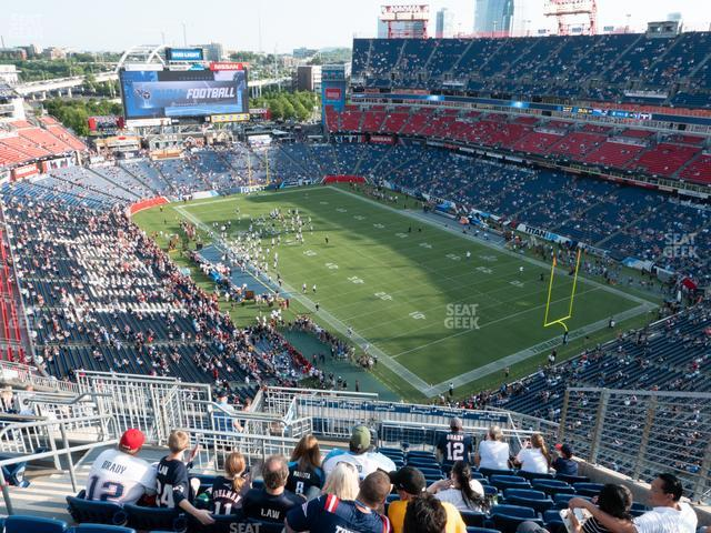 Nissan Stadium Section 303 view