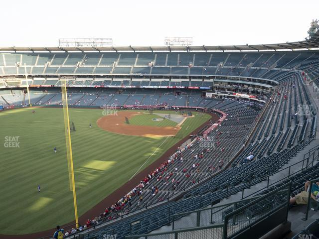 Angel Stadium of Anaheim Section 504 view
