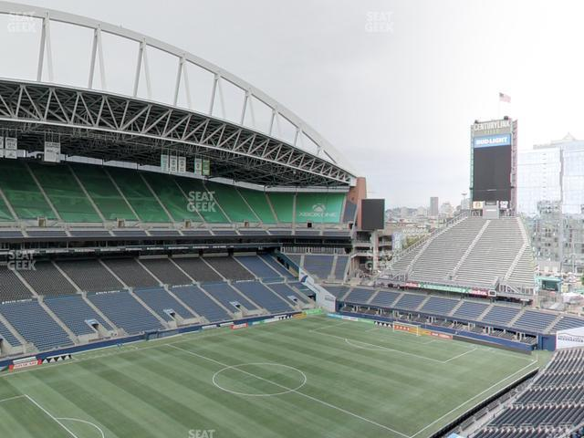 CenturyLink Field Upper 314 view