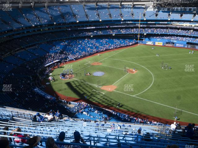 Rogers Centre Section 515 R view