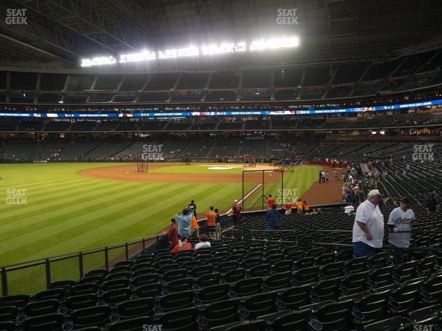 Minute Maid Park Section 105 view