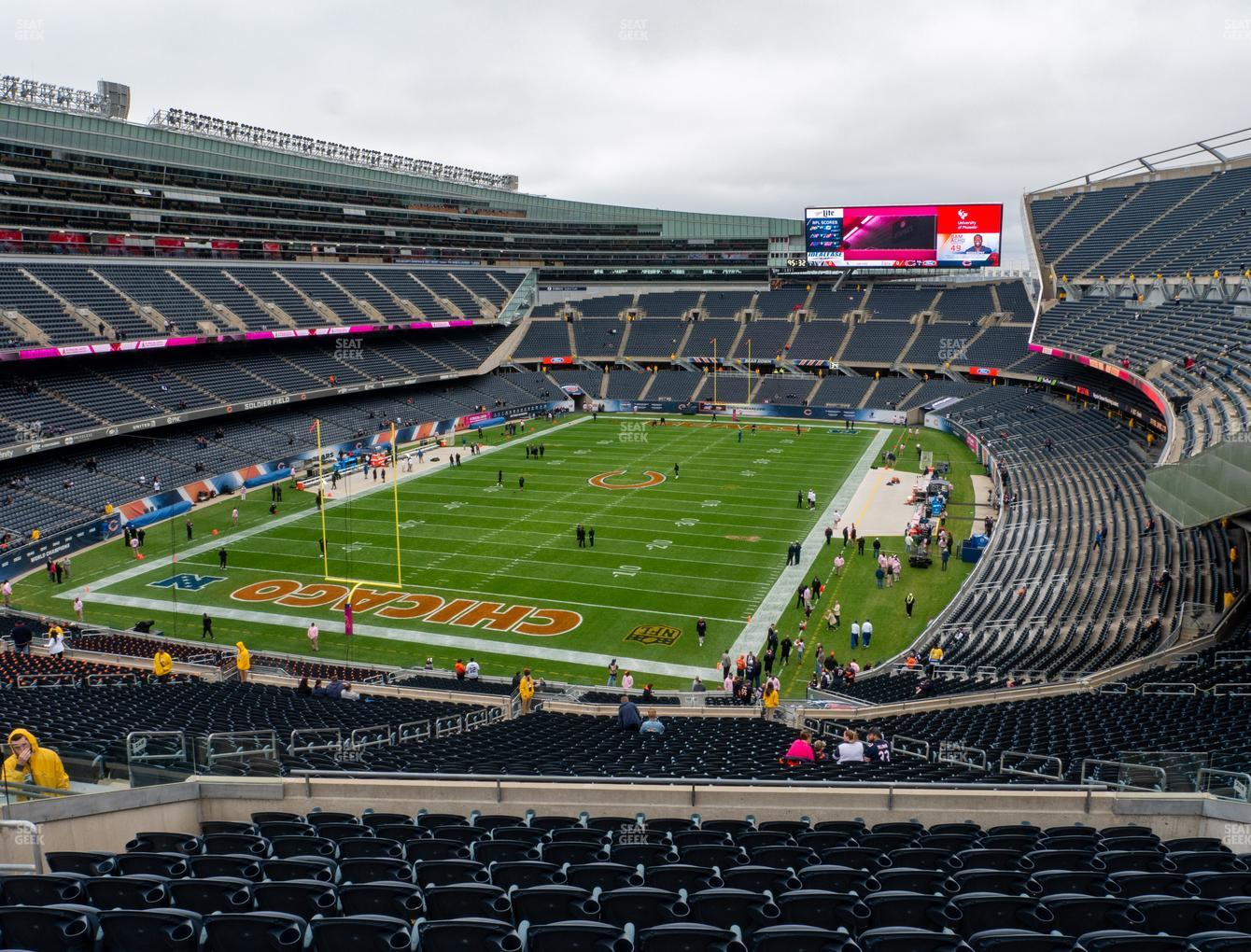 Chicago Bears at Soldier Field Section 349 View