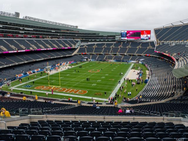 Soldier Field Section 349 view