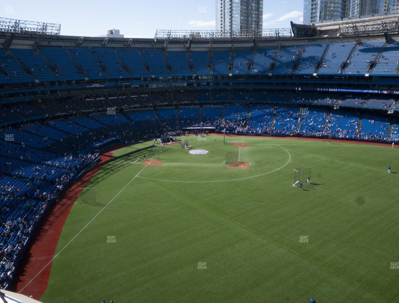 Toronto Blue Jays at Rogers Centre Section 506 R View