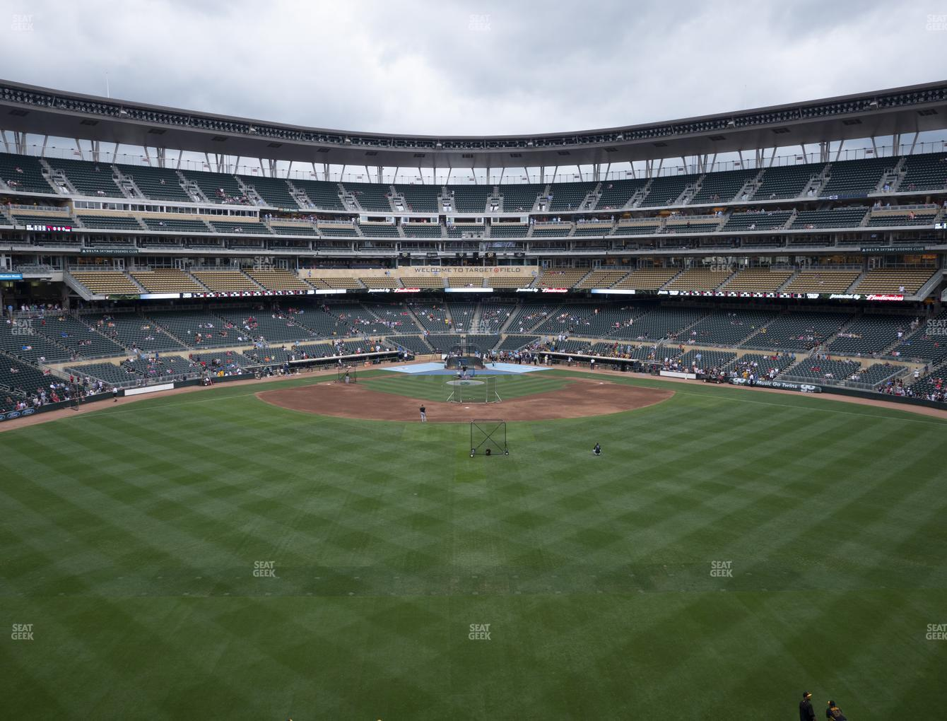 Minnesota Twins at Target Field Section 236 View