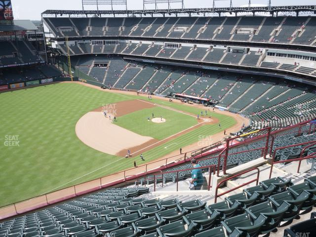Globe Life Park Section 314 view