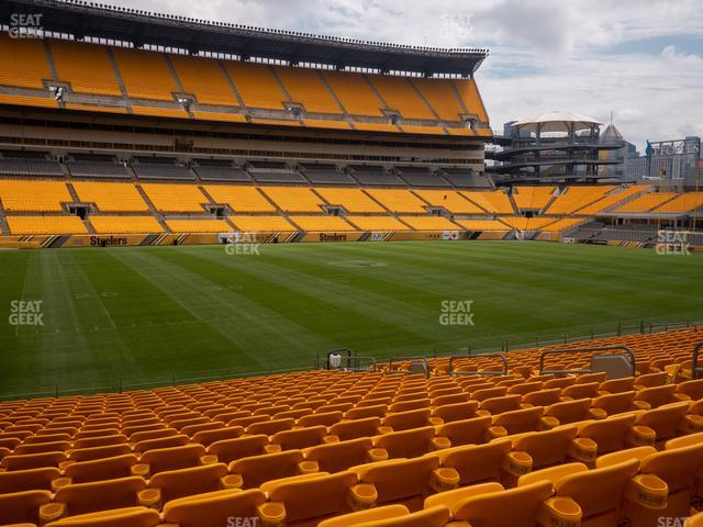 Heinz Field Section 132 view