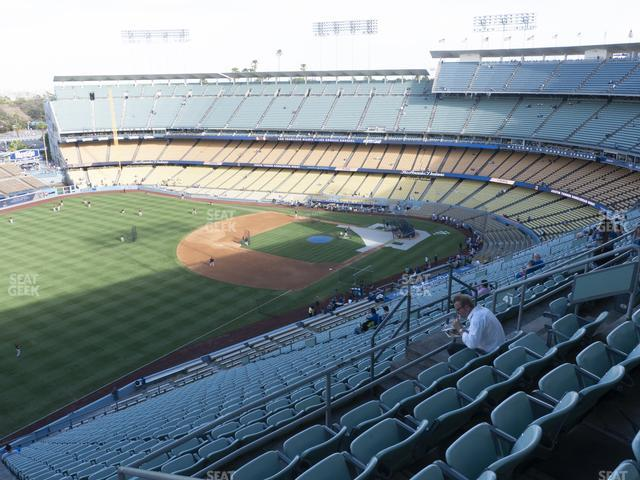 Dodger Stadium Reserve 41 view