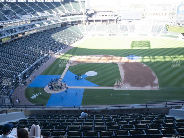 Guaranteed Rate Field Section 526 view