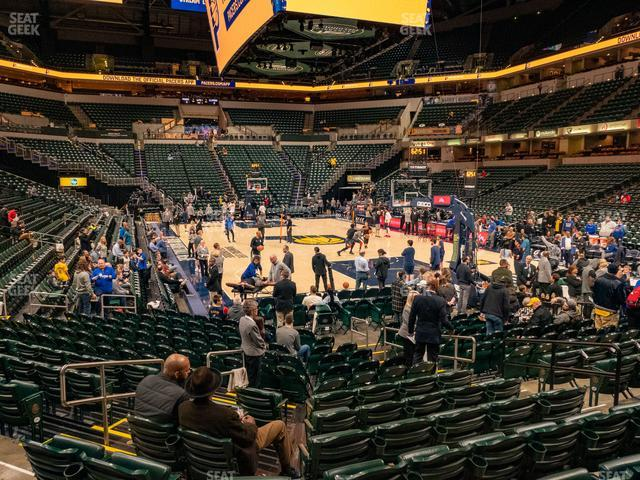 Bankers Life Fieldhouse Section 12 view