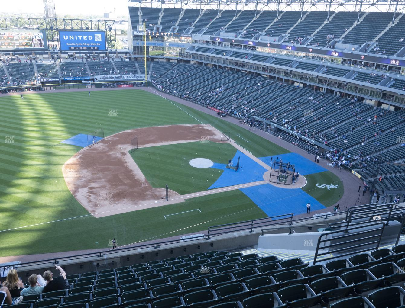 Chicago White Sox at Guaranteed Rate Field Section 542 View