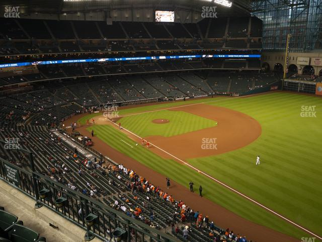 Minute Maid Park Section 331 view