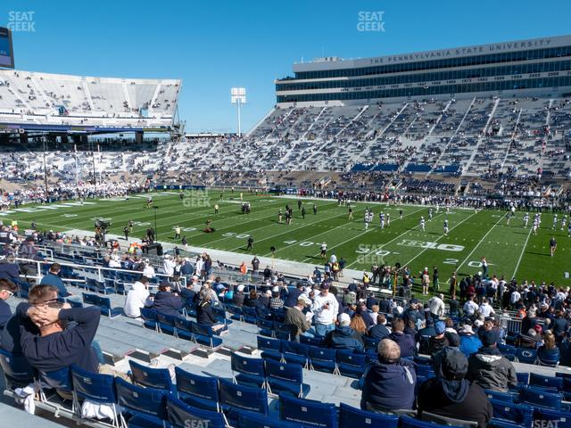 Beaver Stadium Section West C view
