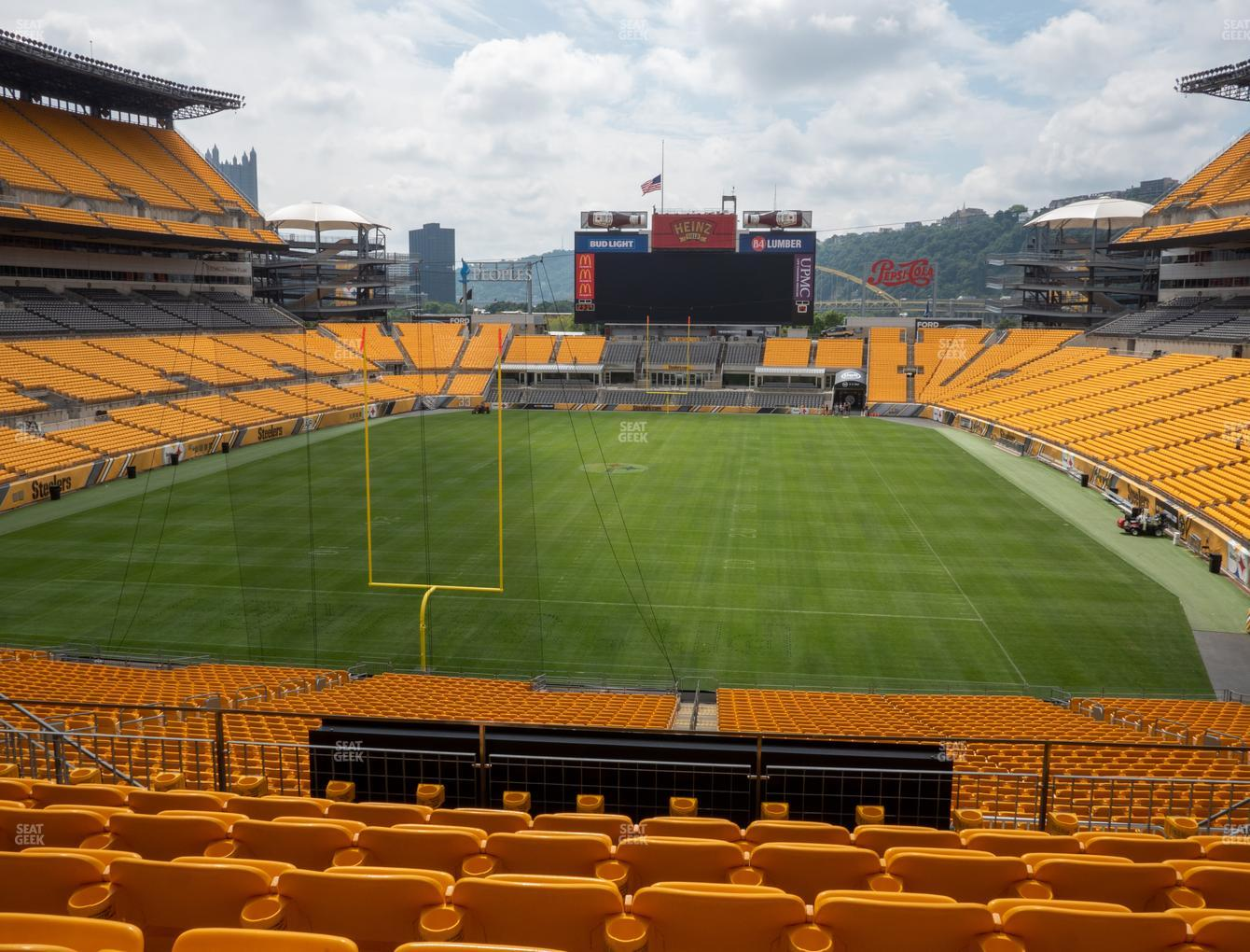 Pittsburgh Steelers at Heinz Field Section 224 View