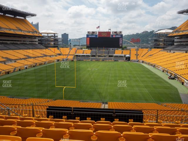 Heinz Field Section 224 view