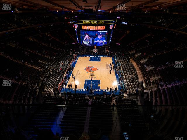 Madison Square Garden Section 320 view