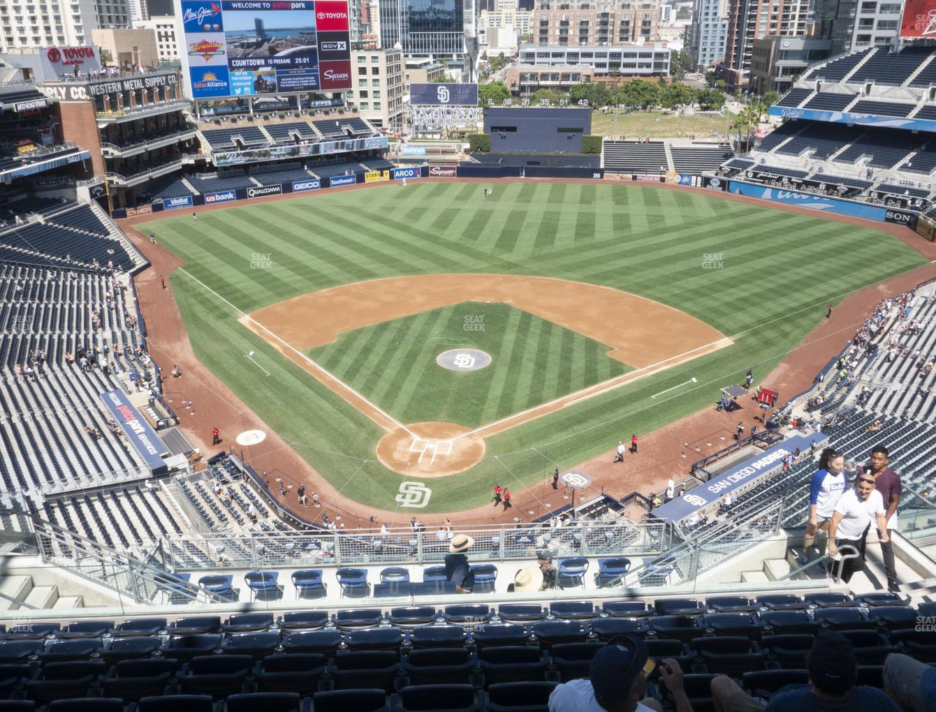 San Diego Padres at Petco Park Section 301 View