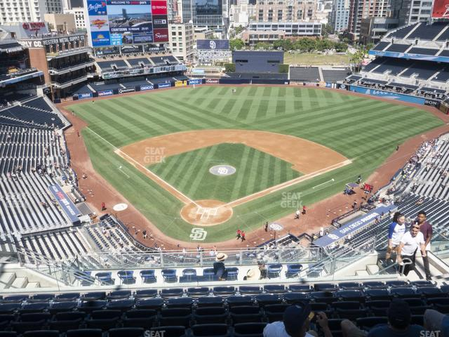 Petco Park Section 301 view