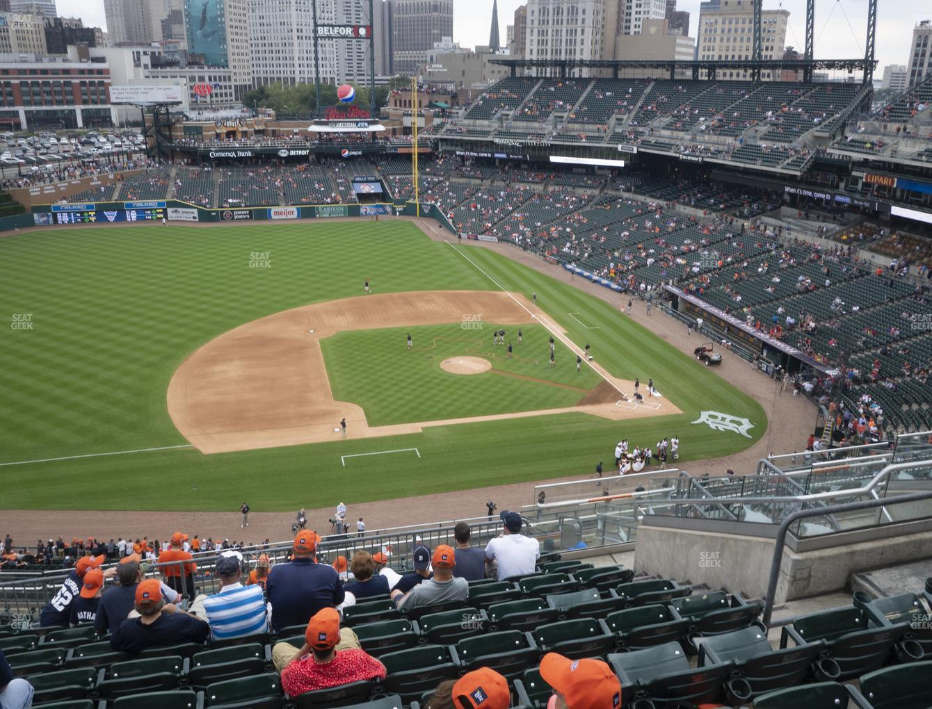 Detroit Tigers at Comerica Park Section 334 View