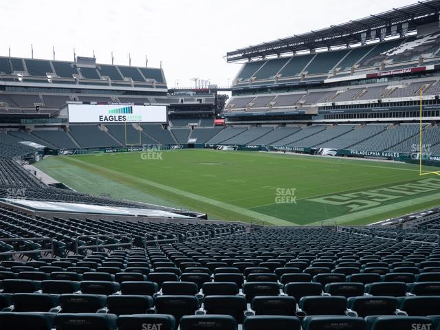 Lincoln Financial Field Section 125 view