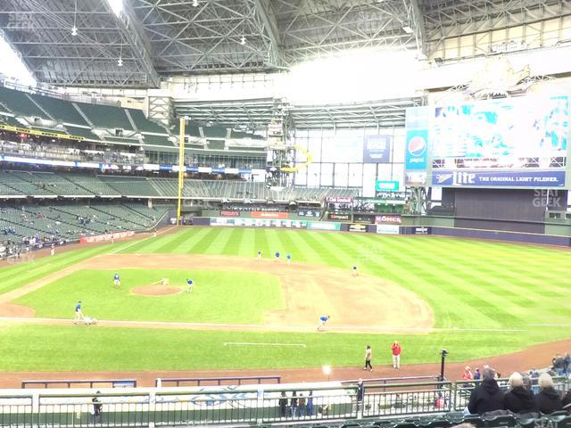 Miller Park Section 213 view
