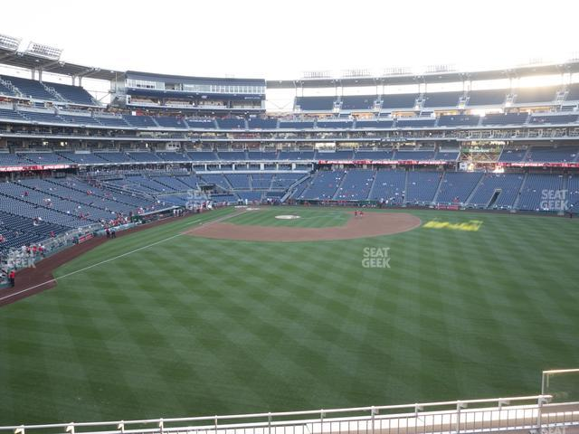 Nationals Park Section 240 view