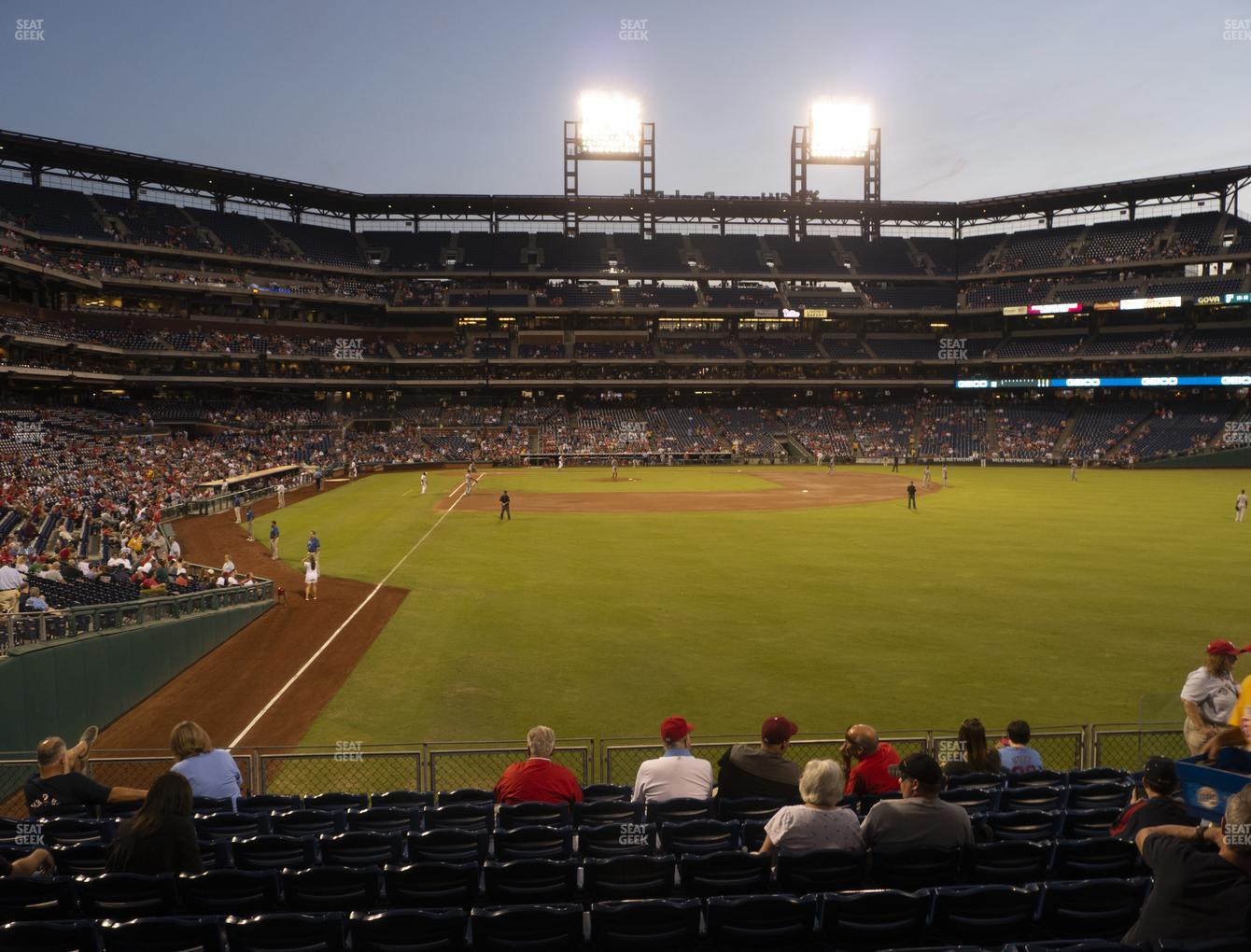 Citizens Bank Park Section 106 Seat Views Seatgeek