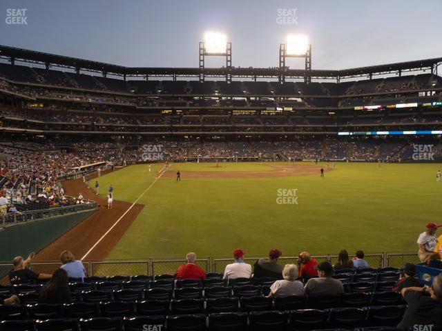 Citizens Bank Park Section 106 view