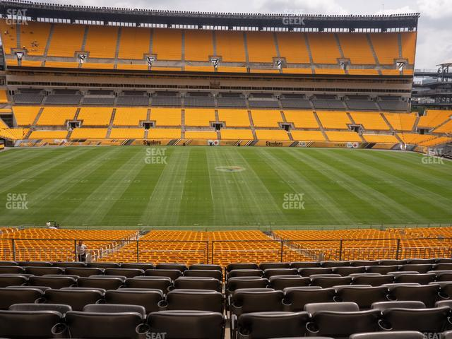 Heinz Field Section 234 view