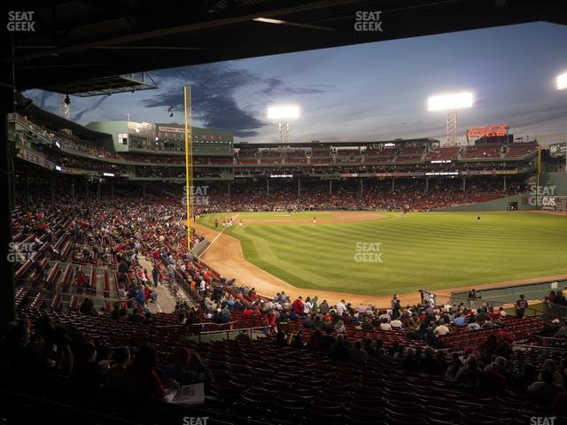 Fenway Park Outfield Grandstand 3 view