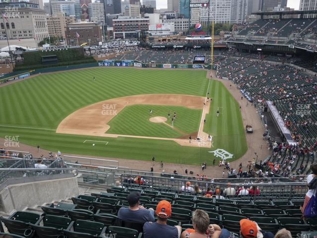 Comerica Park Section 331 view