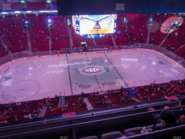 Bell Centre Section 320 view