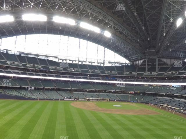 Miller Park Section 238 view