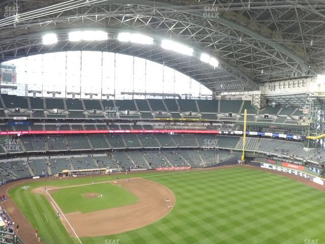 Miller Park Section 406 view